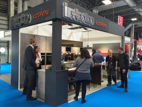 in-toto Exhibition stand
